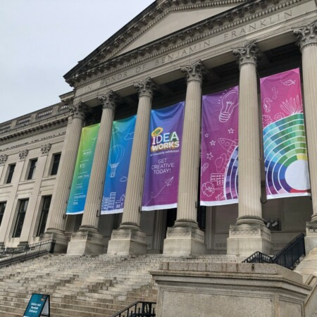 Crayola IDEAworks: The Creativity Exhibition premiered at The FranklinInstitute